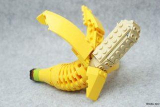 Artista usa peças de lego para criar 'comidas' e desperta curiosos na web