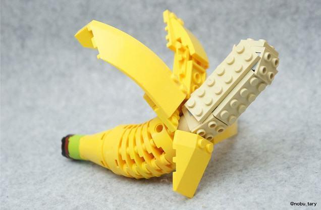 Artista usa peças de lego para criar 'comidas' e desperta curiosos ...