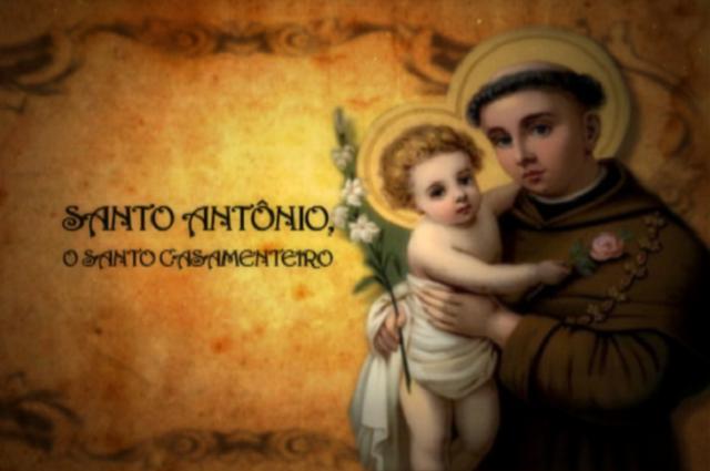 Ilustração de Santo Antônio