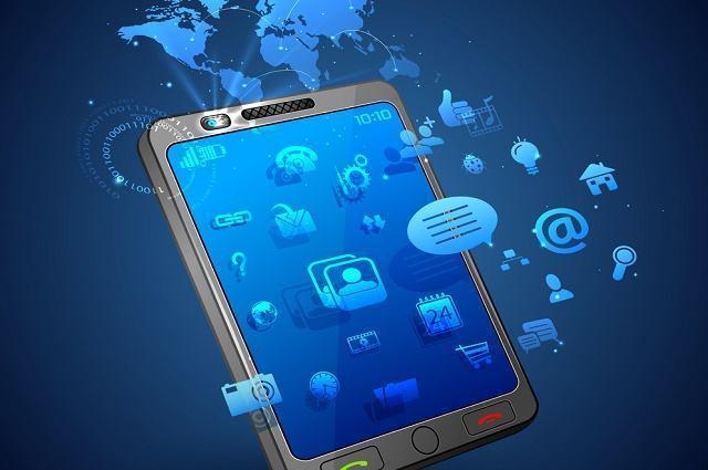 Ilustração de smartphone