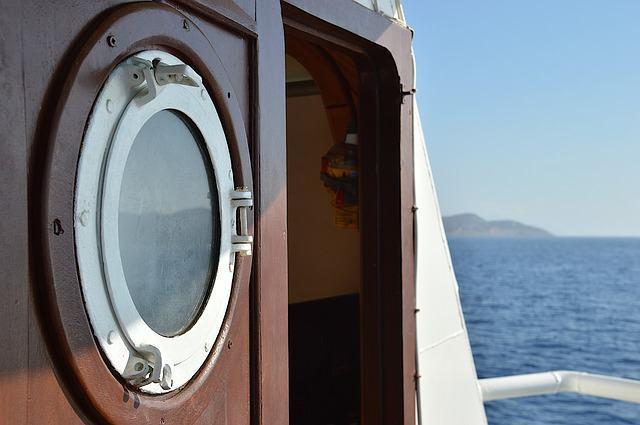 Imagem de janela de embarcação