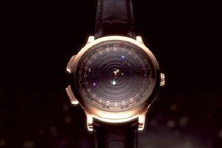 Relógio inovador é capaz de mostrar em tempo real a órbita dos planetas