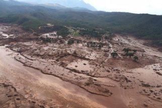 Consequências ambientas do desastre natural em Mariana