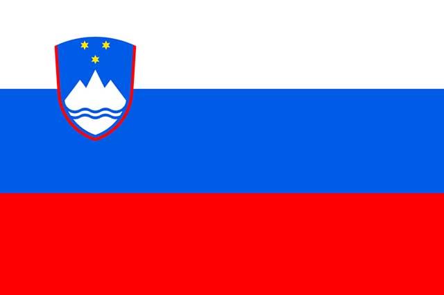 A bandeira utilizada atualmente pela Eslovênia foi adotada no ano de 1991