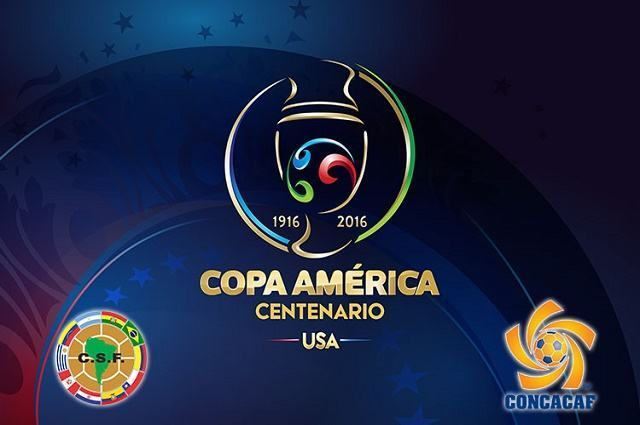 Ilustração da Copa América 2016