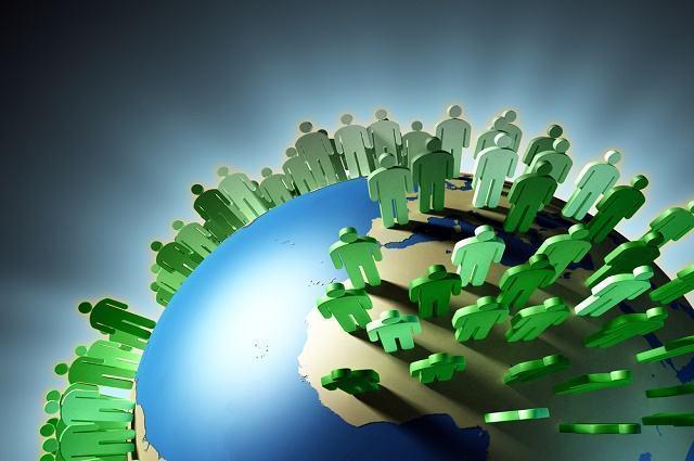 Comparativo: Onde caberia toda a população do Planeta junta?