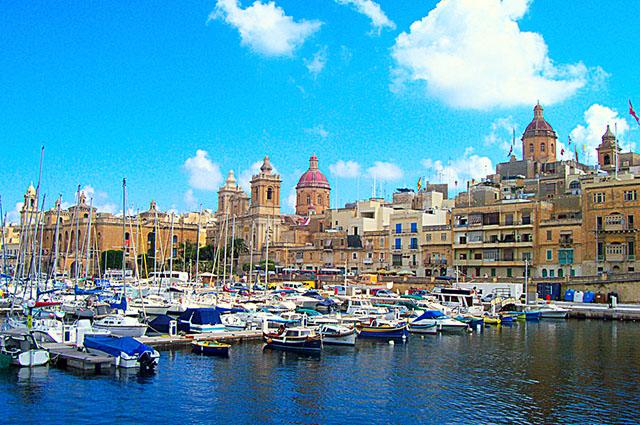 Malta é um dos cinco menores países em extensão territorial do continente europeu