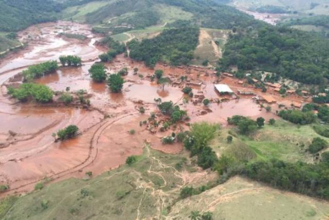 Rompimento de barragem em Mariana (MG) e seus danos ambientais