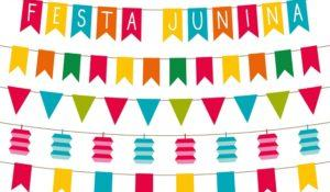 Festa junina (Brazilian June party) decoration and photo booth props set