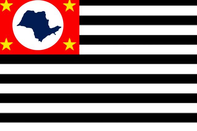 Bandeira do movimento São Paulo Livre