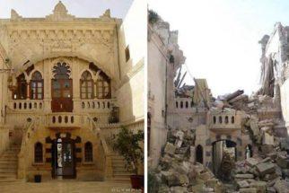 Imagens revelam a devastação feita pela guerra na maior cidade da Síria