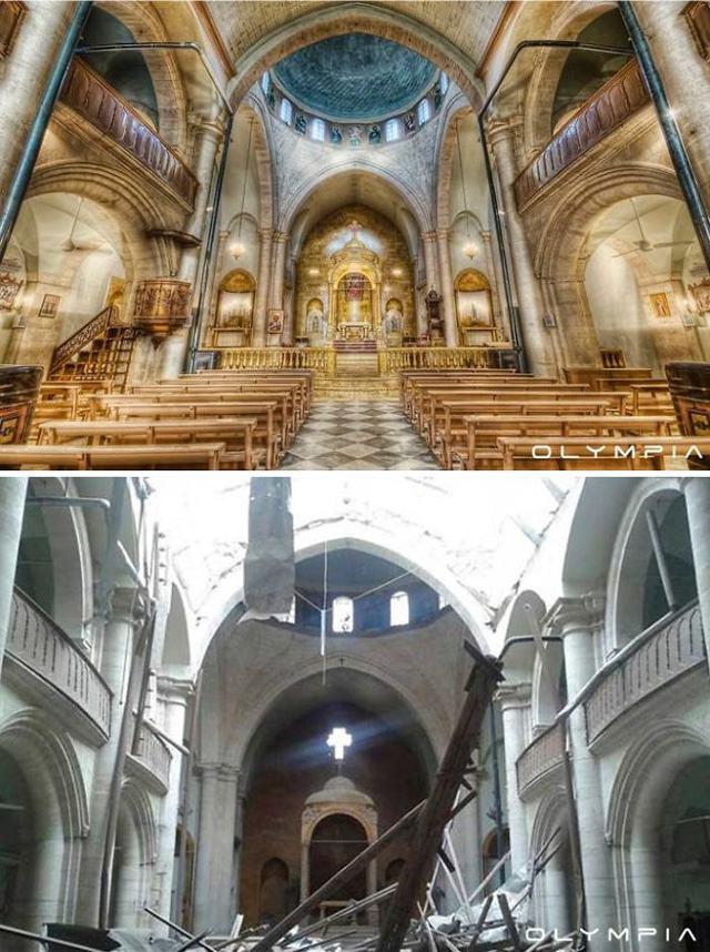 igreja-totalmente-devastada