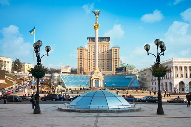 Dentre os países totalmente europeus, a Ucrânia é o maior em tamanho territorial