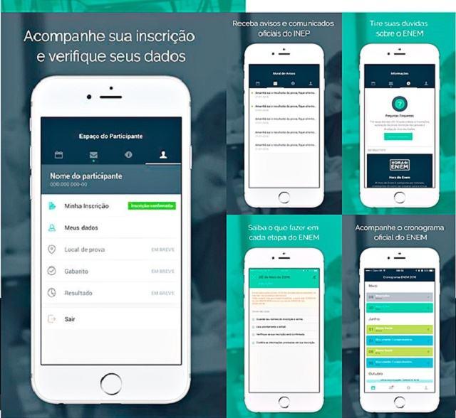 O Enem 2016 e o seu aplicativo para smartphones e tablets
