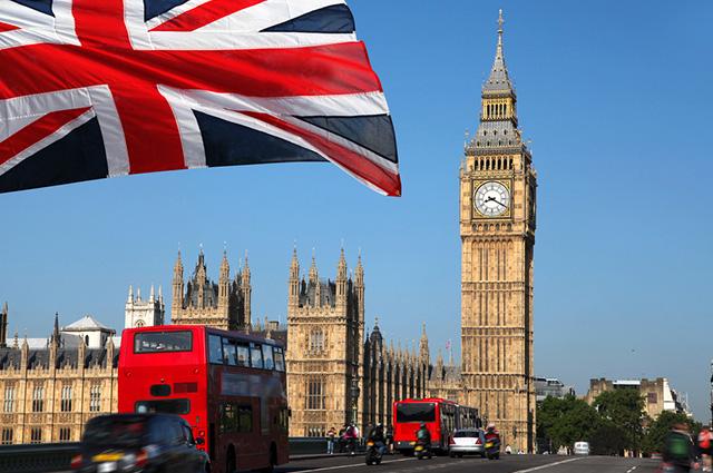 Big Ben na Inglaterra