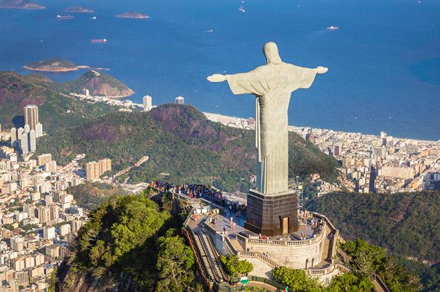 Cristo Redentor, no Brasil