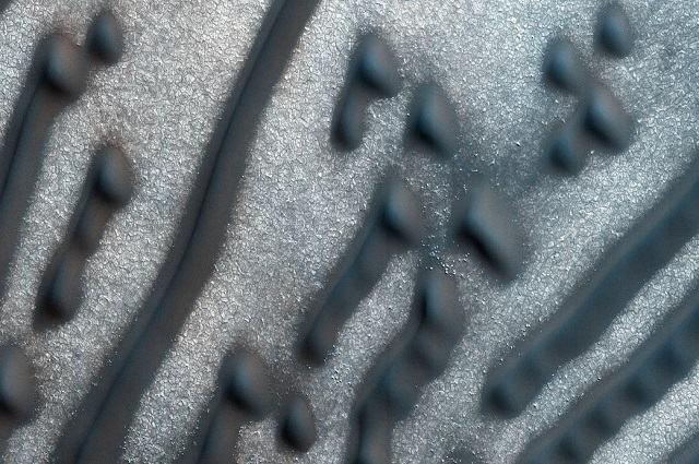 Marte: Descoberta mensagem em código Morse na superfície do planeta