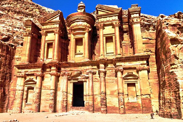Ruínas de Pedra, na Jordânia