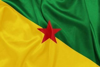 Significado da bandeira da Guiana Francesa