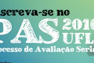 Ufla: abertas as inscrições para o PAS 2016