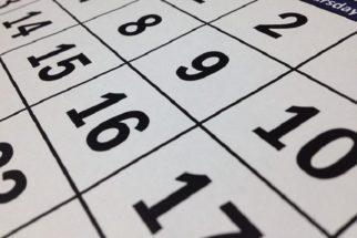 Será antecipado para segunda feriado que cair em outro dia da semana