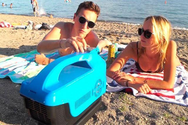Conheça o ar-condicionado portátil que toca músicas e recarrega ...
