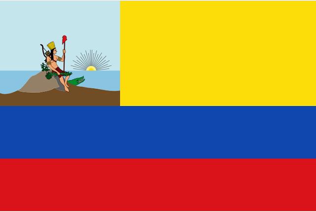 Bandeira antiga da Venezuela