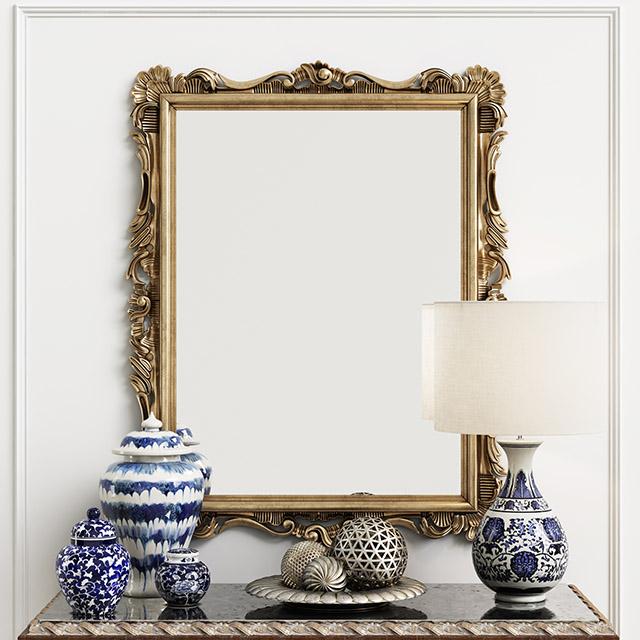 Imagem de um espelho clássico