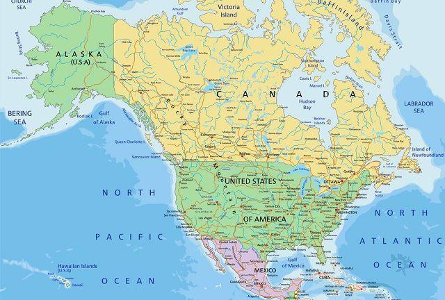 Quantos países fazem parte da América do Norte?