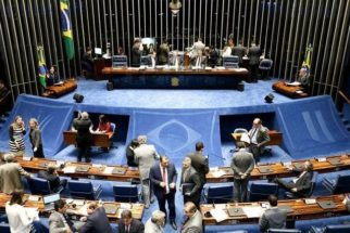 Senadores que votaram contra e a favor do impeachment de Dilma