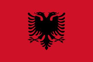 Significado da bandeira da Albânia