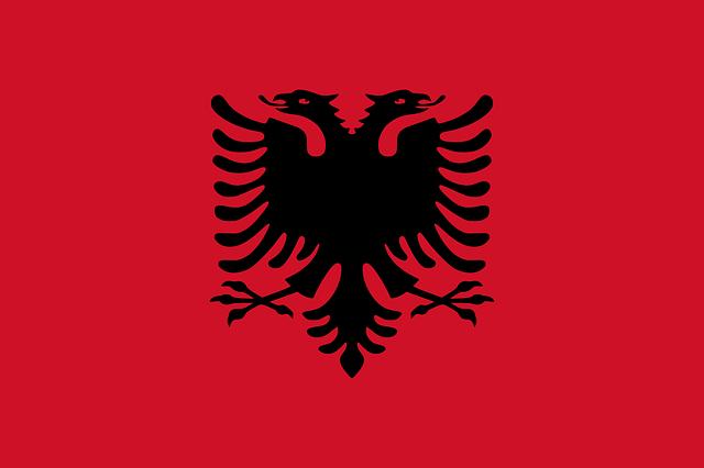 A bandeira da Albânia e sua história de lutas e emancipações
