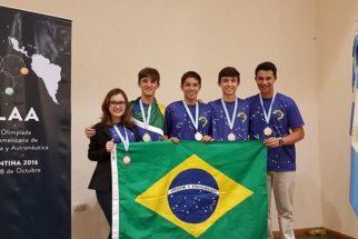 Brasil conquista 1º lugar em olimpíada latina de astronomia e astronáutica