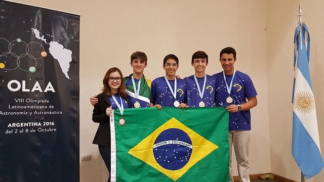 Brasil conquista 1º lugar em olimpíada latina de astronomia e ...