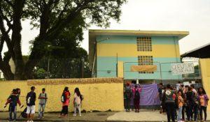 São Paulo - Ocupação de alunos na Escola Ana Rosa de Araújo Dona, contra a reorganização das instituições de ensino proposta pela Secretaria Estadual de Educação (Rovena Rosa/Agência Brasil)