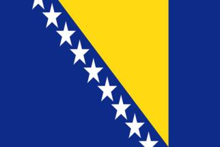 Significado da bandeira da Bósnia e Herzegovina