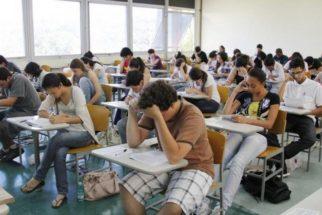 Cai o índice de alunos faltosos no vestibular da Fuvest