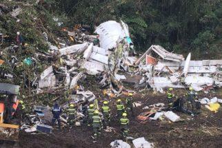 O acidente com o avião da Chapecoense e as dezenas de mortos