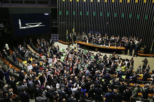 A Câmara dos Deputados do Brasil