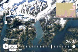 Criação do Google mostra como a Terra mudou entre 1984 e 2016