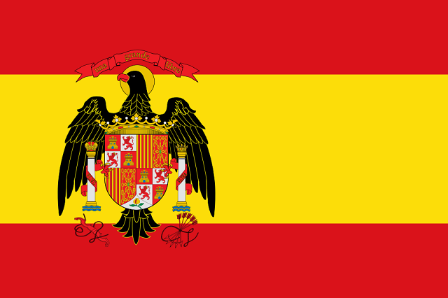 Bandeira antiga da Espanha
