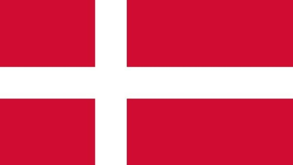 Significado da bandeira da Dinamarca - Estudo Prático