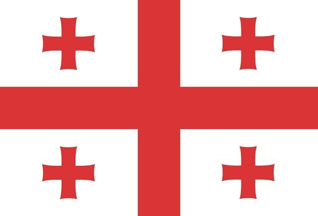O significado da bandeira da Geórgia tem relação com os cavaleiros templários