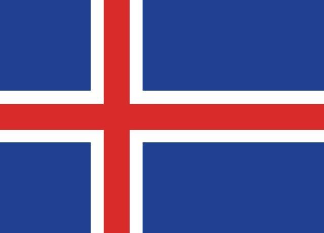 A cruz escandinava compõe a banheira da Islândia