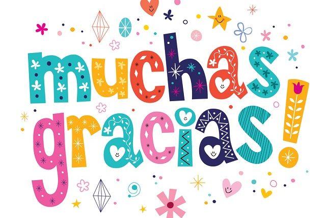 Aprender expressões de agradecimento em espanhol facilita na socialização