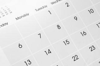 Os nomes dos dias da semana em inglês. Origem, escrita e fala