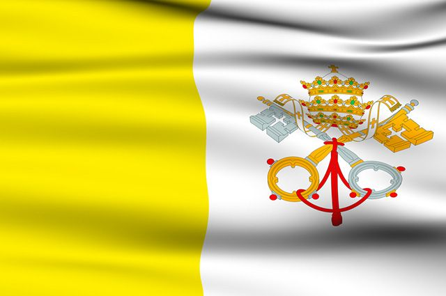 Significado da bandeira do Vaticano