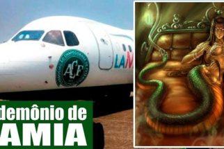 O que significa 'lamia', a mesma palavra que havia no avião do time da Chapecoense