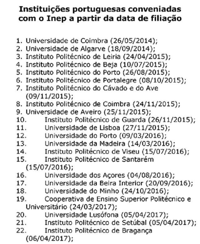 Mais duas universidades portuguesas passam a aceitar o Enem