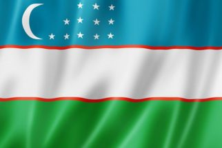 Significado da bandeira do Uzbequistão